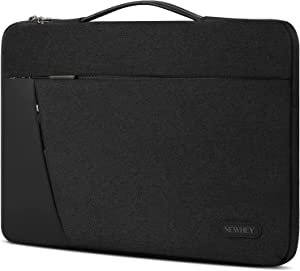 Laptop Sleeve Case 13-14 Inch Waterproof Durable Laptop Case Shockproof 360 Protective Bag with Handle Compatible with 13
