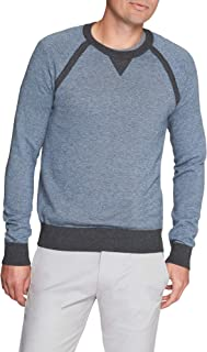 Men's Birdseye Crew Neck Pullover Sweater