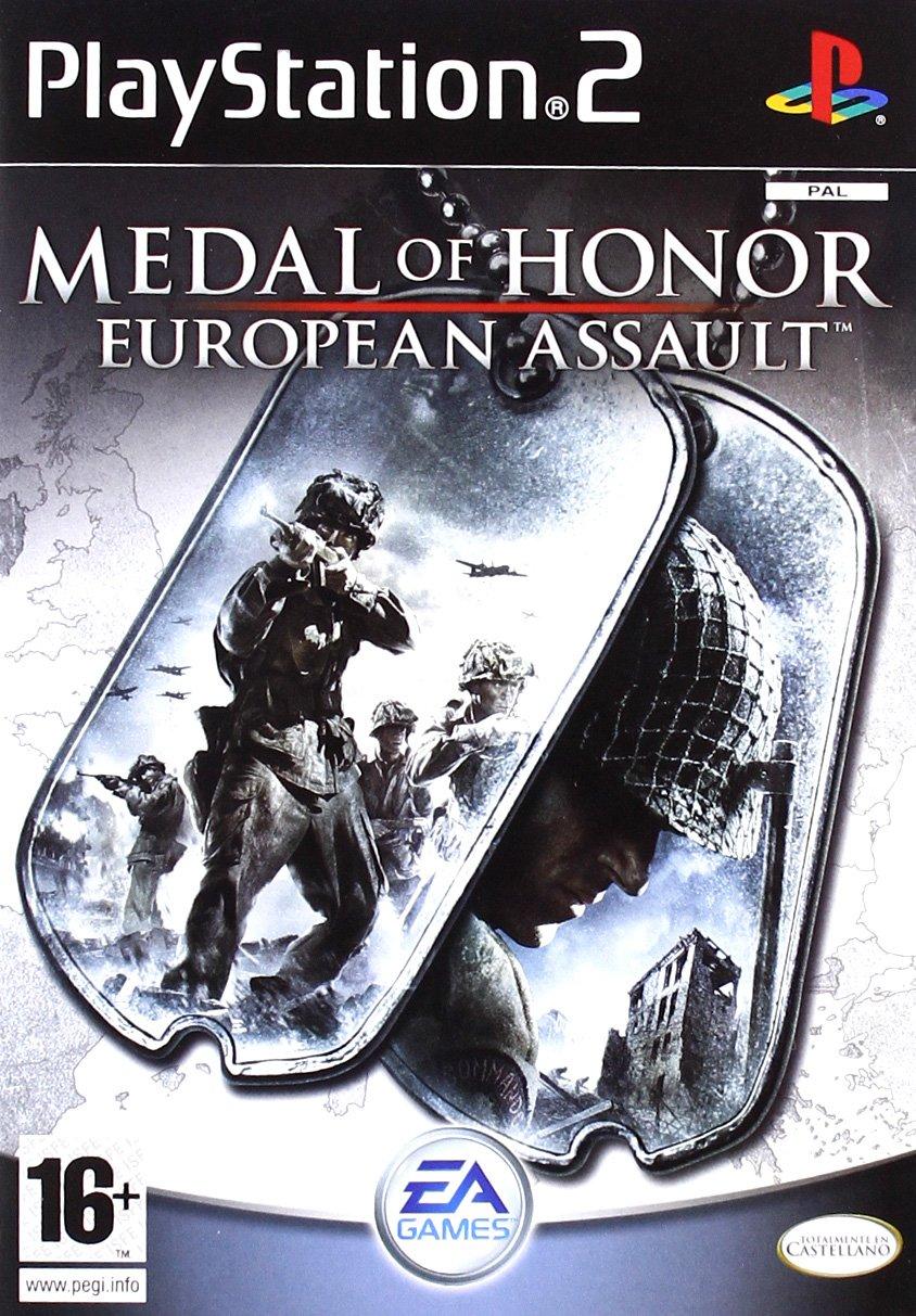Medal Of Honor European Assault Ps2 España: Amazon.es: Videojuegos