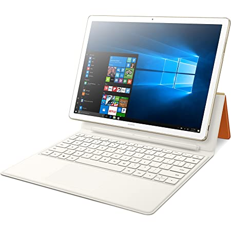 """Huawei MateBook E Signature Edition 12"""" 2-in-1 Laptop Tablet, Office 365 Personal Included, 8+256 / Intel Core i5 / 2K Display, Portfolio Keyboard included (Champagne Gold)"""