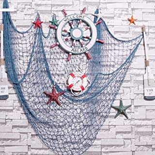 CHICIEVE Blue Decorative Fish Net 39