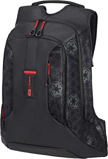 Samsonite Paradiver L Disney - 15.6 Pouces Sac à Dos Ordinateur Portable L, 45 cm, 17 L, Noir (Darth Vader Black Mesh)