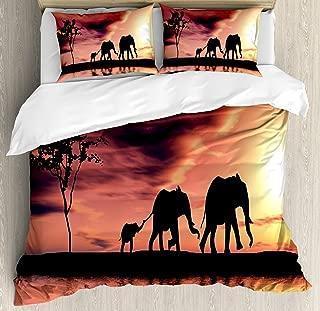 queen size elephant bedding