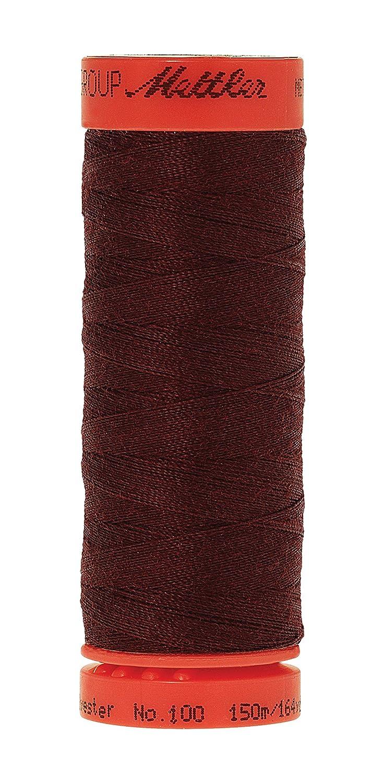 Mettler Metrosene 100% Core Spun Polyester Thread, 165 yd, Kidney Bean