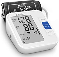 Blood Pressure Monitor Upper Arm by Alcedo| Automatic Digital BP Machine with Wide-Range..