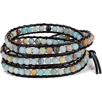 SPUNKYsoul 3 (Triple) Wrap Bead Bracelet for Women Collection