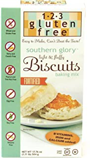123 Gluten Free Southern Glory Biscuit Mix, 17.76-ounce Boxes (Pack of 6)