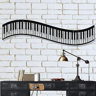 DEKADRON arte de pared de metal, arte de pared de piano de