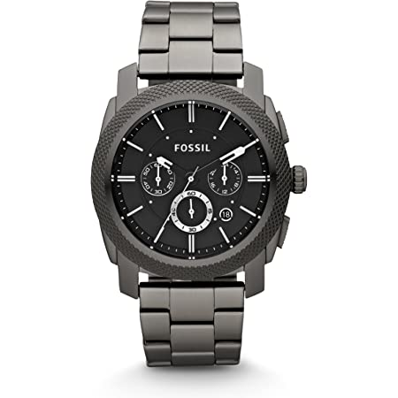 Fossil Men's Chronograph Quartz Watch with Stainless Steel Strap FS4662