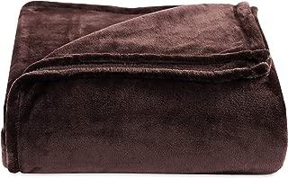 Berkshire Blanket Luxury Plush VelvetLoft Bed Blanket, King, Italian Roast
