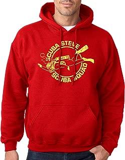Crazy Dog T-Shirts Scuba Steve Scuba Squad Sweatshirt Funny Diving Hoodie