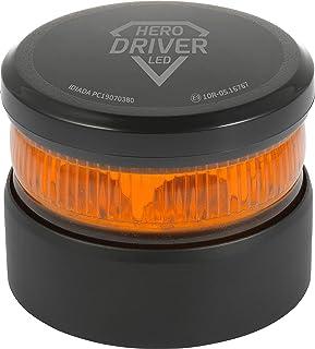 Luz V16 de Emergencia Autónoma con Batería de Litio - Hero Driver LED - Señal V16 de advertencia de Peligro, Homologada DGT