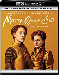 Mary Queen of Scots arrives on Digital Feb. 19 and on 4K, Blu-ray, DVD Feb. 26 from Universal Pictures