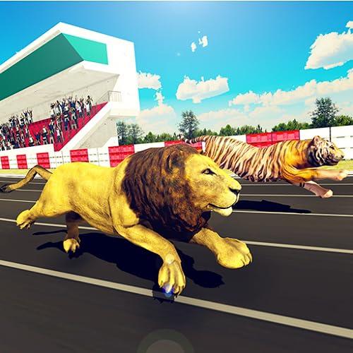 simulador de carreras de animales salvajes: juego de carreras de derby de zoológico para niños