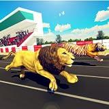 animaux sauvages simulateur de courses acrobatiques: zoo derby jeu de course pour les enfants
