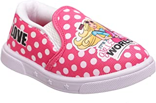 Barbie by Kidsville Pink Girl's Shoes Sneakers-2.5 Kids UK (23 EU) (BB1EGC1708)