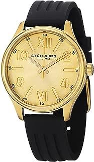 Stuhrling Original Women's 565L.02 Ascot Variance Swiss Quartz Gold-Tone Watch