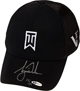 Tiger Woods Autographed Black Victory 2012 Cap - Limited Edition of 25 -  Upper Deck - 6b666f51a09