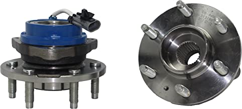 Brand New (Both) Rear Wheel Hub and Bearing Assembly 6 Bolt RWD w/ABS (Pair) 512243 x2