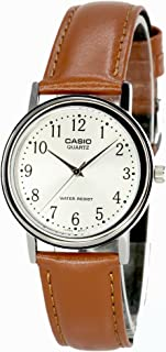 Men's Leather watch #MTP1095E7B