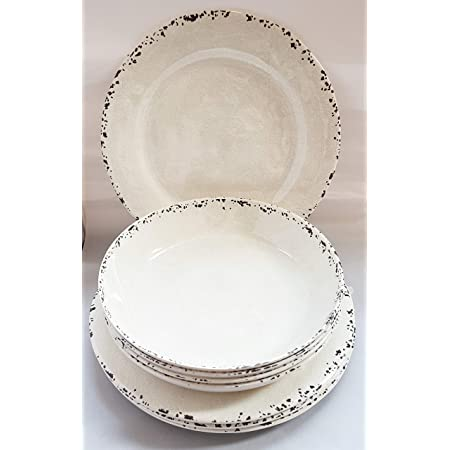 NEW TOMMY BAHAMA 15Pc  MELAMINE Dinner//Salad Plates//Bowls//Utensils TURQUOISE