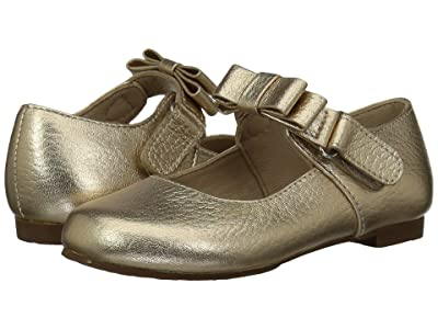Elephantito Charlotte Mary Jane (Toddler/Little Kid) (Gold) Girls Shoes