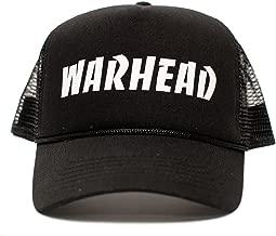WARHEAD Dimebag Darrell Unisex Adult One-Size Black/Black Snapback Truckers Hat Cap