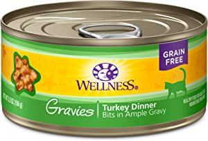 Wellness Natural Pet Food Complete Health Gravies Grain Free Canned Cat Food