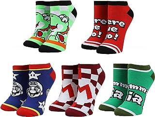 Super Mario Ankle Socks (5-Pack)