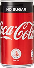 Coca-Cola No Sugar Mini Cans, 180ml, (Pack of 24)
