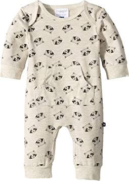 Raccoon Printed Baby Jumpsuit (Infant)
