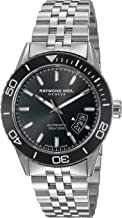 Raymond Weil Men's 'Freelancer' Swiss Automatic Stainless Steel Casual Watch, Color:Silver-Toned (Model: 2760-ST1-20001)