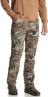 Wrangler Green Camo Outdoor Performance Comfort Flex Cargo Pants