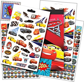 Disney Cars 3 Stickers - Over 295 Disney Cars Stickers Bundled with Specialty Separately Licensed GWW Reward Stickers