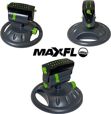 MAXFLO Sprinklers for Yard | Heavy Duty Water Sprinklers for Lawn | Garden Sprinkler for Yard | Mini Oscillating Sprinkler 36