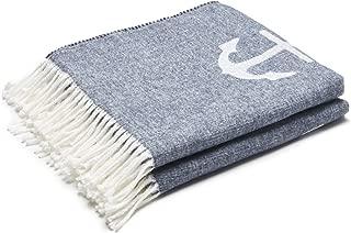 Arus Highlands Collection Tartan Plaid Design Throw Blanket Anchor 60