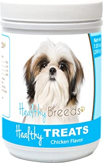 Healthy Soft Chewy Dog Treats for Shih Tzu - Over 80 Breeds - Tasty Flavored Snack - Small Medium or Large Pets - Training Reward - 7oz