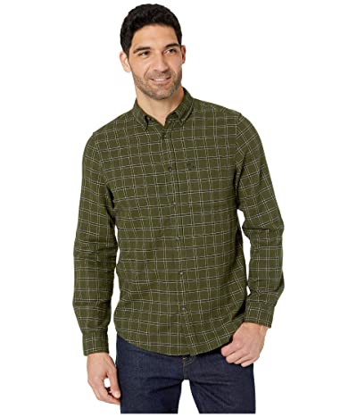 Fjallraven Ovik Flannel Shirt (Deep Forest) Men
