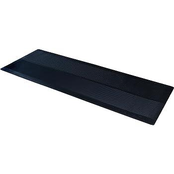 "CLIMATEX 9A-110-27C-6, 27"" x 6' Rubber Floor Protection Runner Mat, Black"