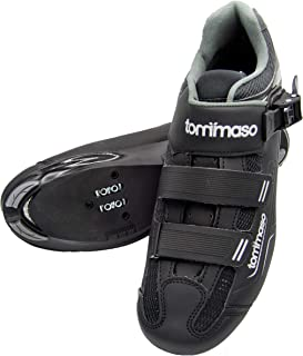 Tommaso Strada 200 Dual Cleat Compatible Road Bike, Touring, Indoor Cycling Shoe with Buckle