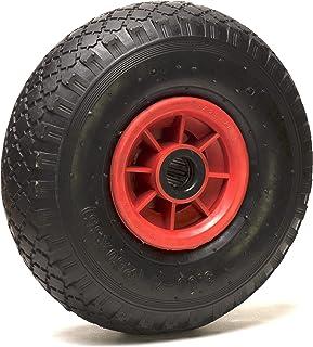 Opblaasbaar wiel 3.00-4 voor steekwagen, kruiwagen en bolderkar, 260 x 85 mm, boring 20 mm
