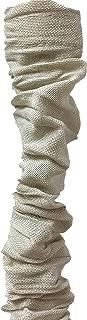 Royal Designs CC-1-LB Beige Cord & Chain Cover 4' Linen Fabric Touch Fastener, Linen Beige