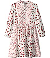 Stella McCartney Kids - Camille Ladybug Printed Long Sleeve Dress (Toddler/Little Kids/Big Kids)