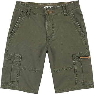Wrangler Boys' Straight Fit Cargo Shorts