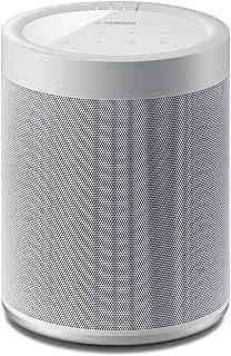 ياماها ميوزيك كاست 20 مكبر صوت لاسلكي، تحكم صوتي اليكسا - ابيض - WX021WH