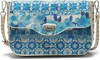 Desigual Tasche LITTLE AMORGOS Damen Blau - 18SAXF21-5015-U