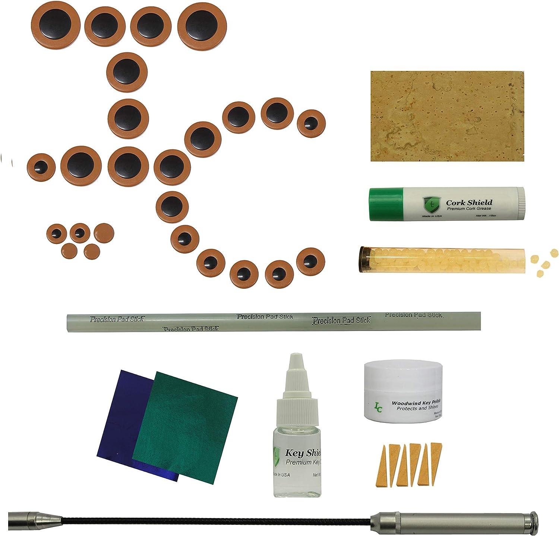 Instrument Clinic Alto Saxophone Portland Mall Pad Powered specialty shop Leak w Battery Kit