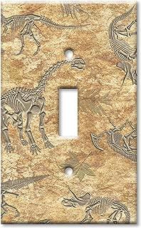 Art Plates - Dinosaur Fossils Switch Plate - Single Toggle