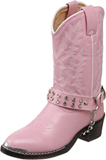 Durango Lil' Pink N Chrome BT568 Western Boot (Toddler/Little Kid/Big Kid)