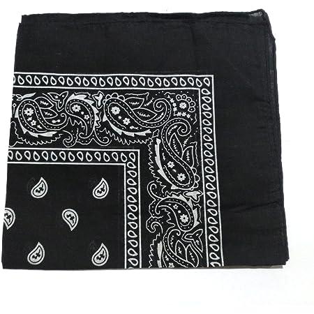 Camel Brand Bandana 12 Pack 21x21 100/% Polyester